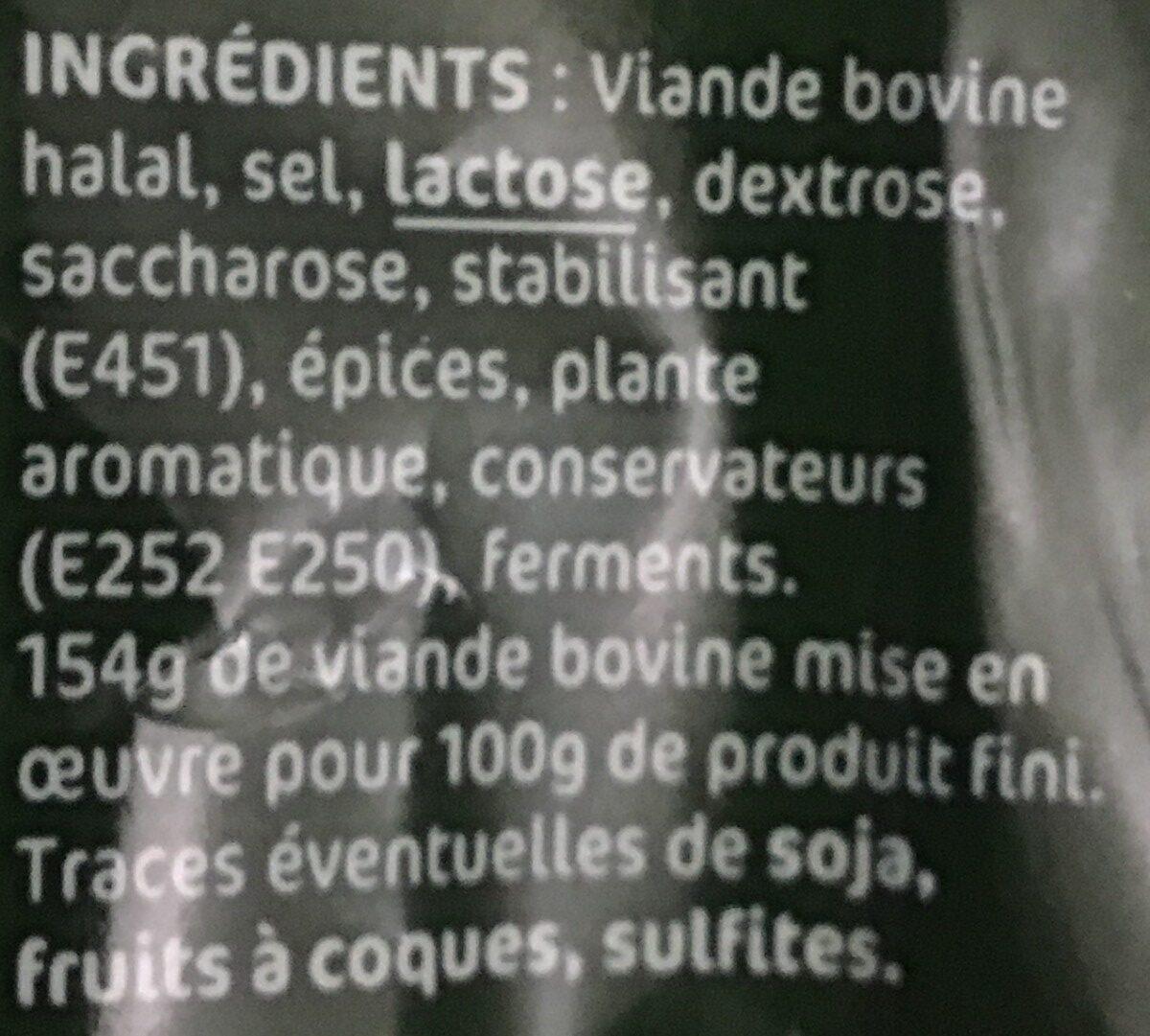 Le Sec Pur Boeuf Nature - Ingrédients - fr