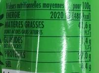 Le Sec Pur Boeuf Nature - Informations nutritionnelles - fr