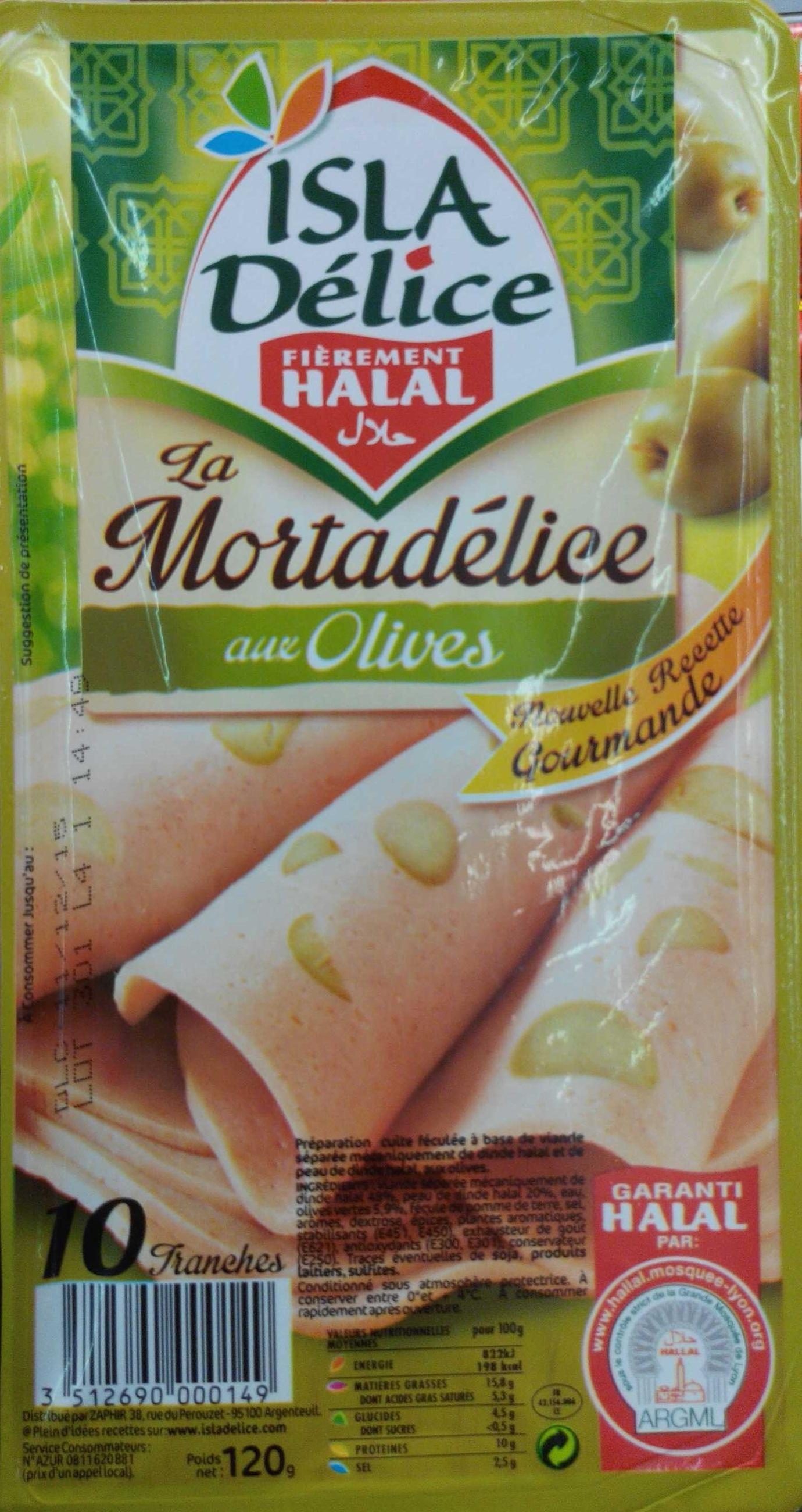 La Mortadélice aux Olives - Produit
