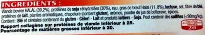 10 Burgers - Ingredients