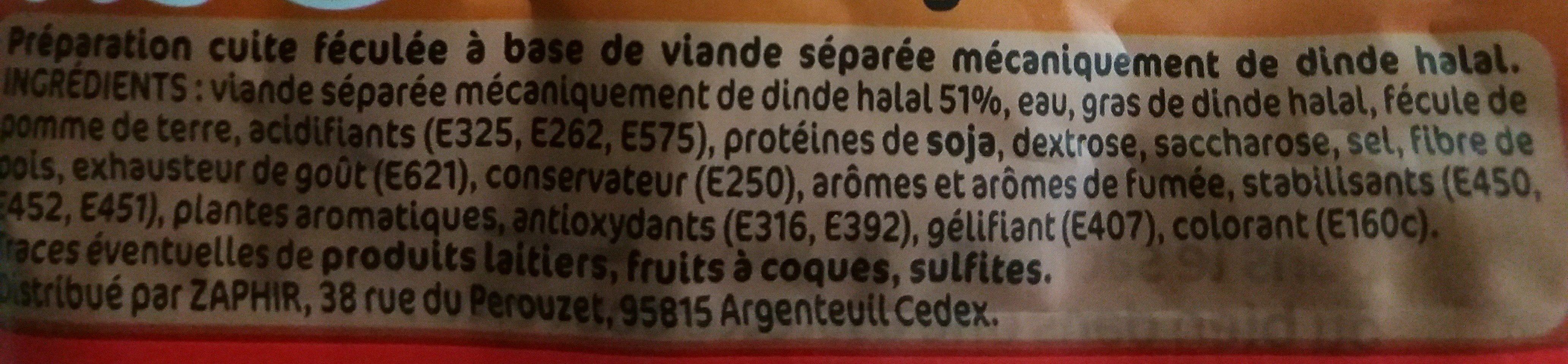 Déliss' Original - Ingredients - fr