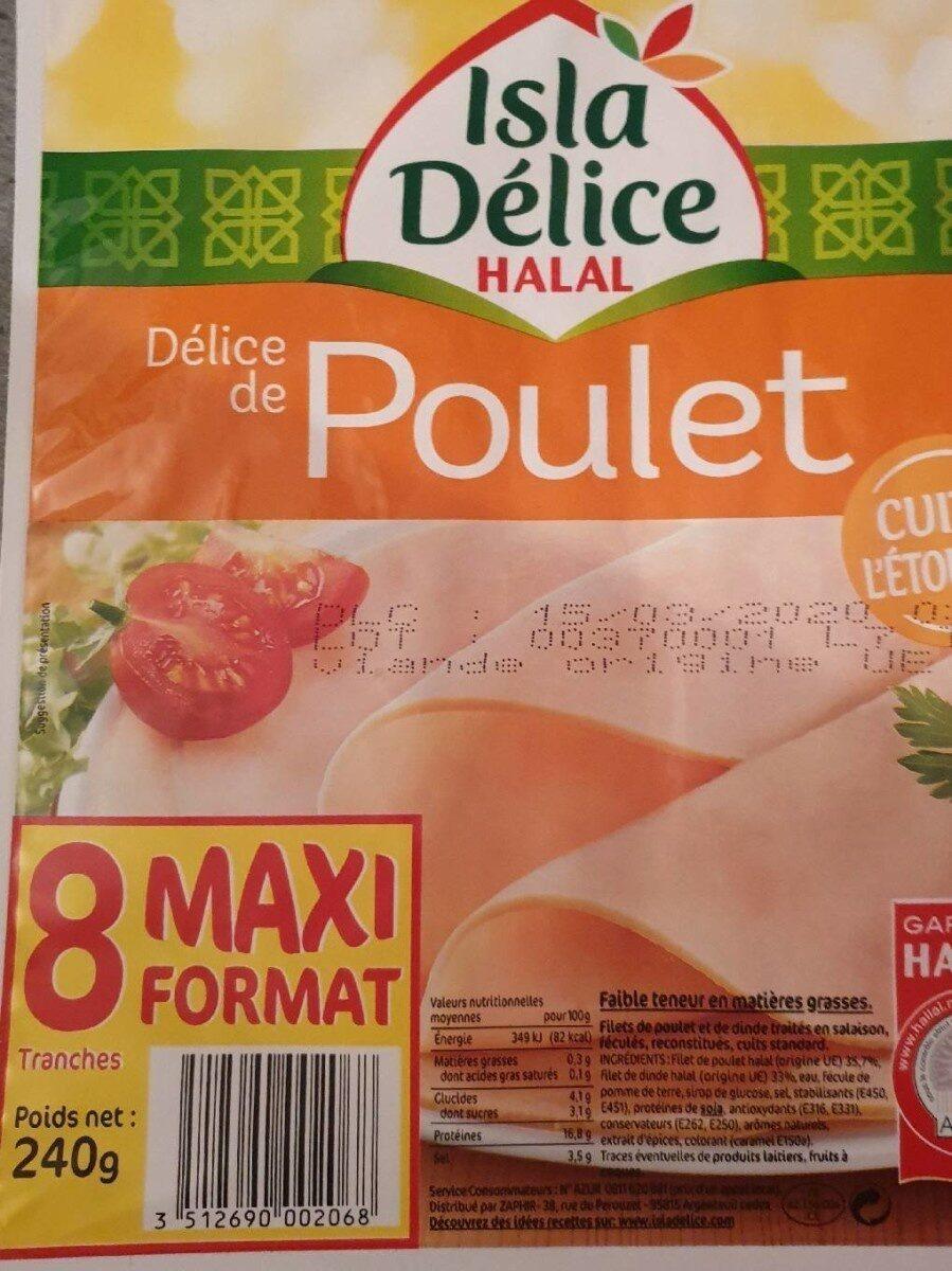 délice de poulet - Produit - fr