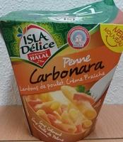 Penne Carbonara (Lardons de poulet, Crème Fraîche), Halal - Produit - fr