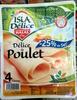 Délice de Poulet -25% de sel - Produit