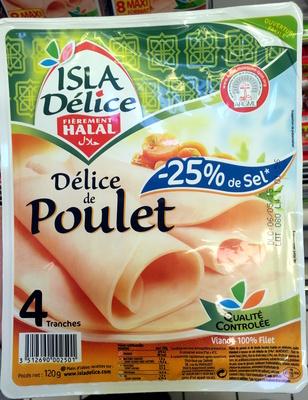 Délice de Poulet -25% de sel - Product
