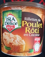 Rillettes de poulet rôti en cocotte - Produit - fr