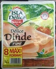 Délice de Dinde fumé (8 tranches) - Produit