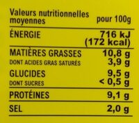Saveur'délice goût boeuf - Informations nutritionnelles - fr
