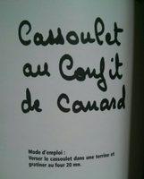 Cassoulet confit de canard - Product