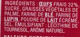 8 Mini Gaufres Moelleuses - Ingrédients
