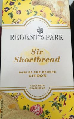Sir Shortbread Citron - Product - fr