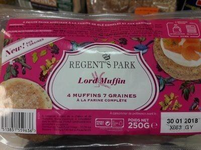 Muffins 7 Graines à la Farine Complète - Prodotto - fr