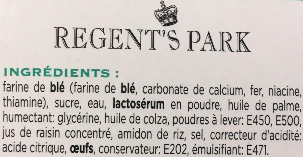 Gentleman scone - Ingredienti - fr