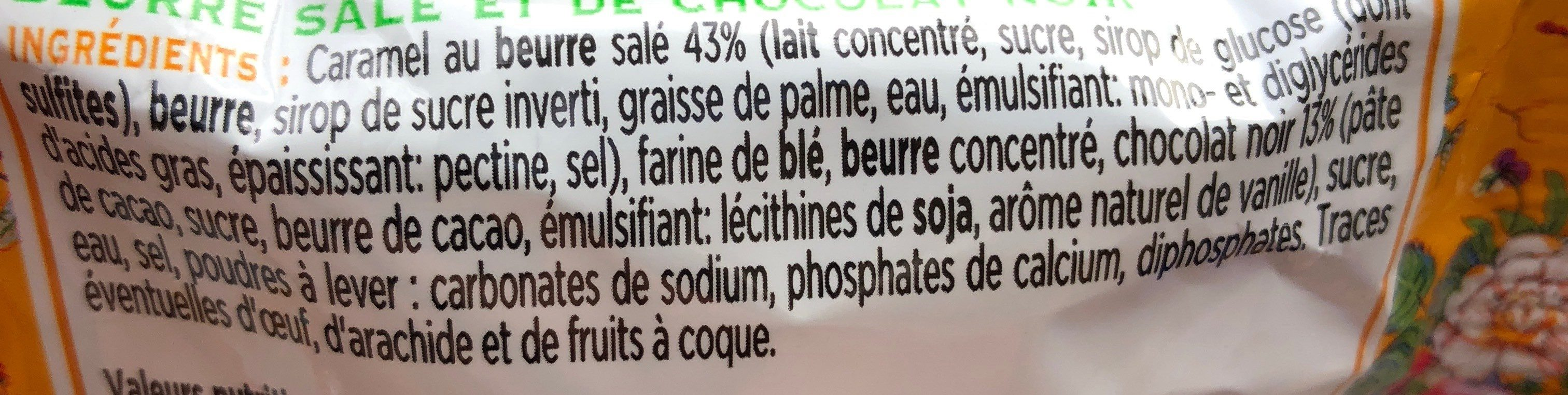 Sir Millionnaire - Ingredients - fr