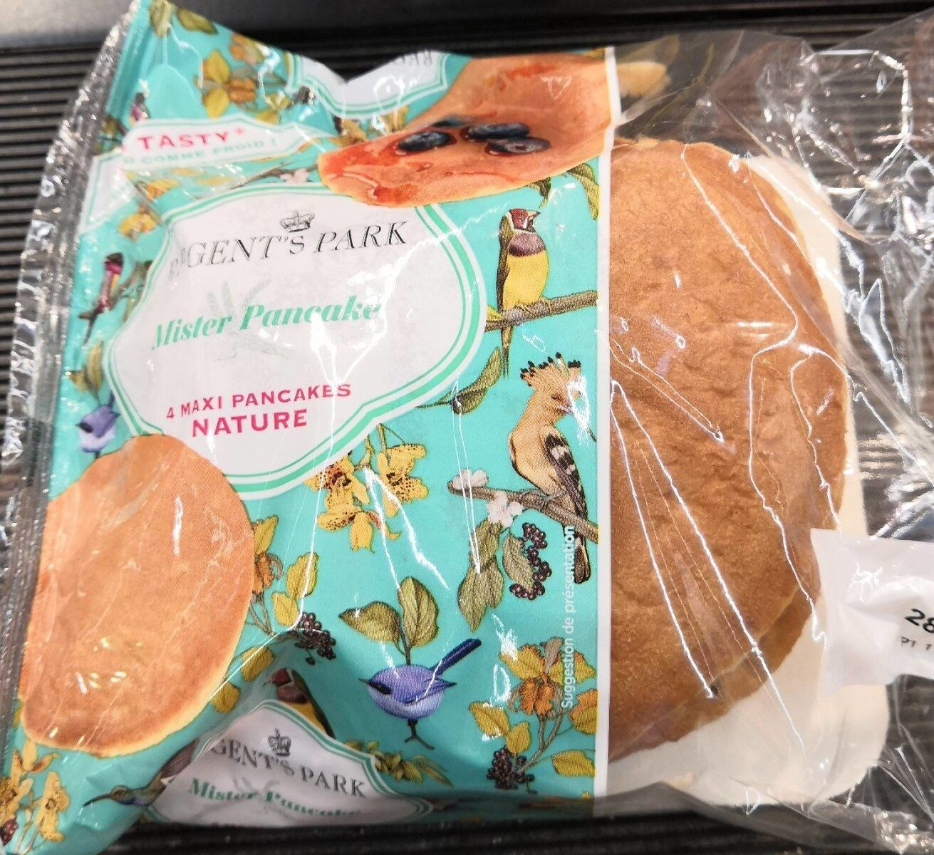 Mister Pancake - 4 Maxi Pancakes Nature - Product