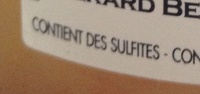 Grain de Muscat - Ingredienti - fr