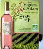Vin rosé Bio Les Vignes d'Adam - Product