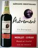 Vin rouge biologique Merlot-Syrah - Product