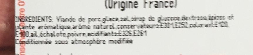 Saucisses de Toulouse - Ingrédients