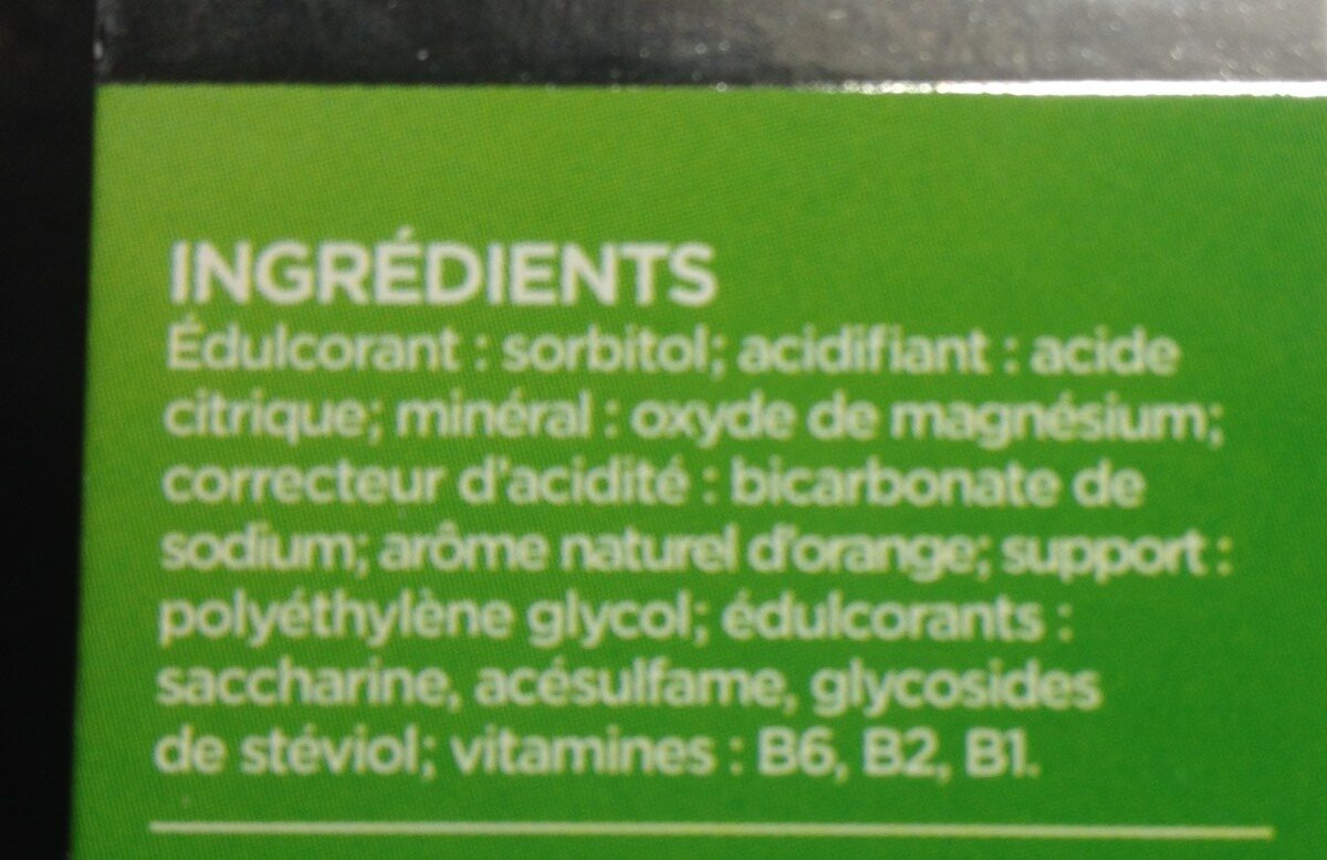 Magnésium - Ingrédients - fr