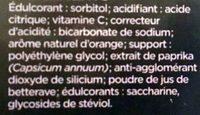 Nutrisanté Vitamine C - Ingrédients