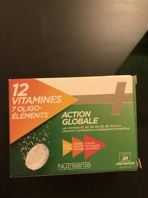 12 vitamines - Produit - fr