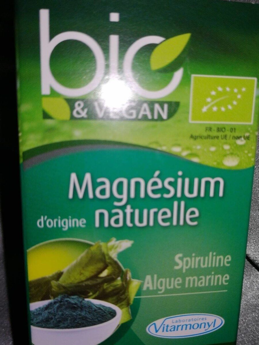 Bio vegan magnesium naturelle spiruline - Product