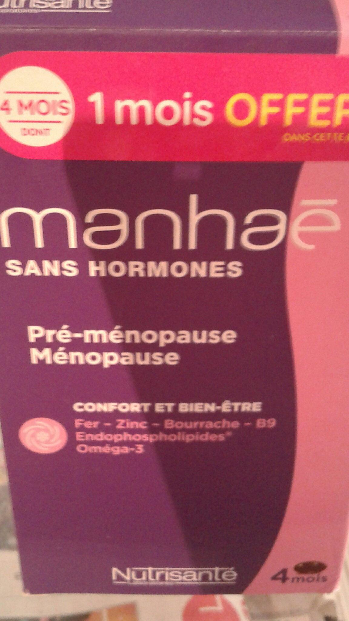 Nutrisanté Manhaé Féminité Ménopause - Produit - fr