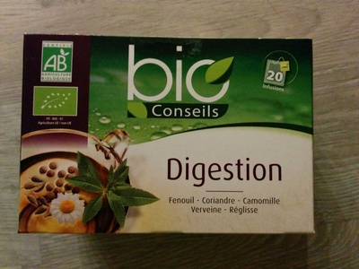 Infusion bio conseils Digestion - Product