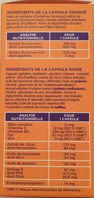 Manhaé + - Informations nutritionnelles