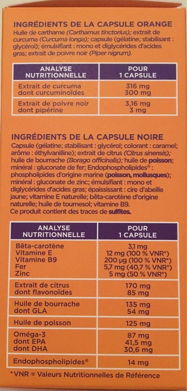 Manhaé + - Informations nutritionnelles - fr