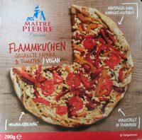 Flammkuchen Gegrillte Paprika & Tomaten - Produkt