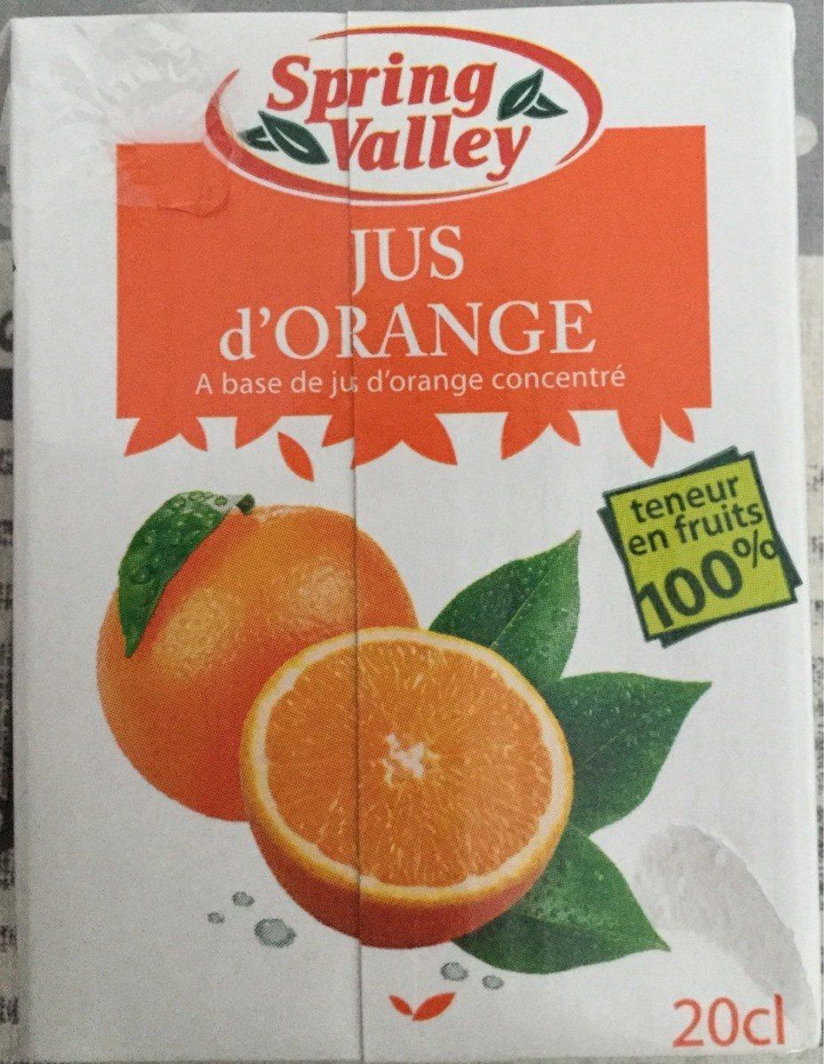 Jus d'orange 100% Jus - Product