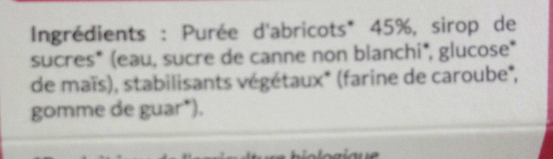 Sorbet - Ingredients