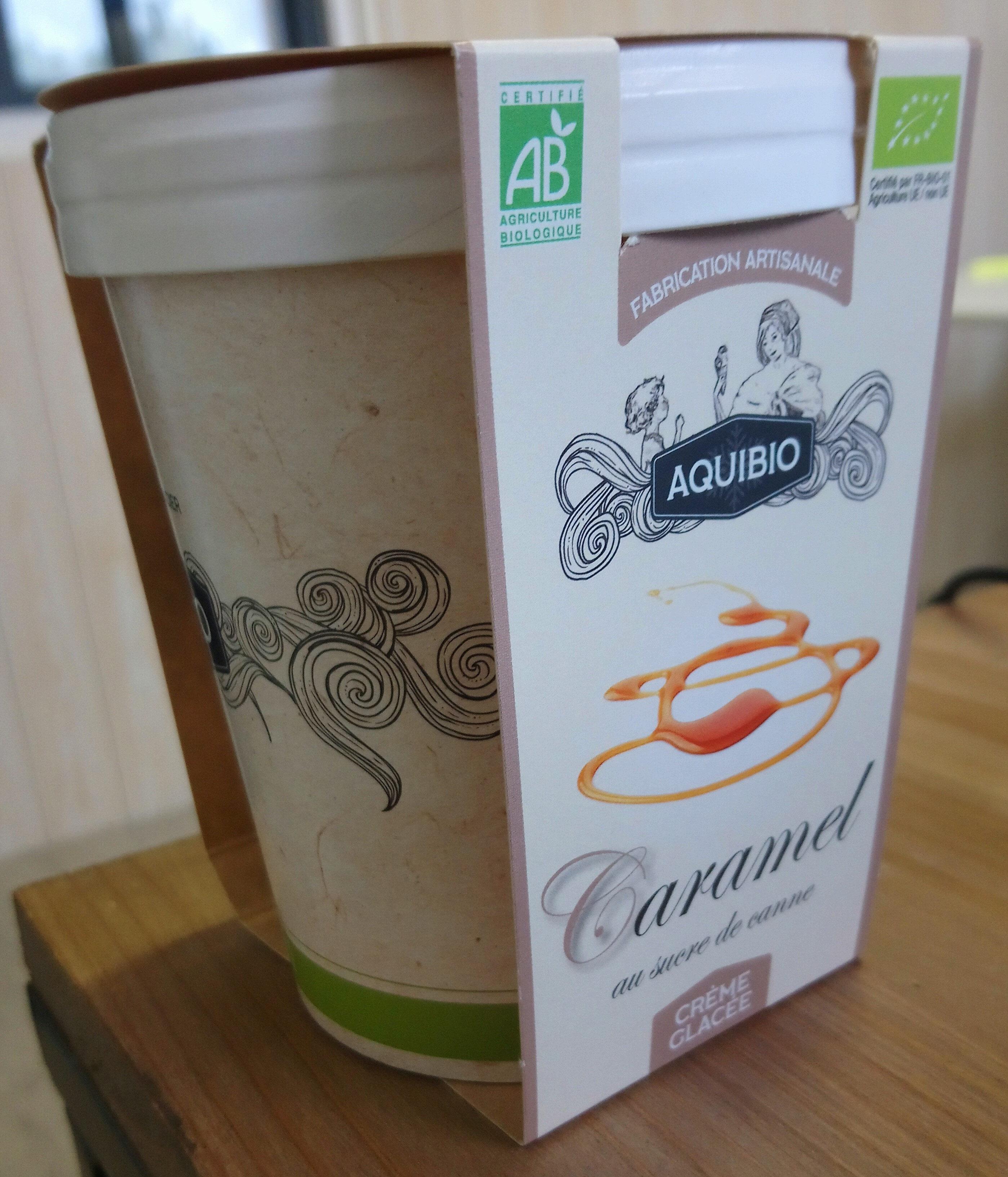 Crème Glacée Caramel au sucre de canne - Product