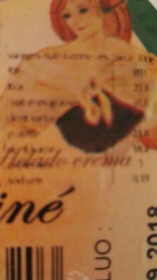 Crème Glacée Praliné - Informations nutritionnelles