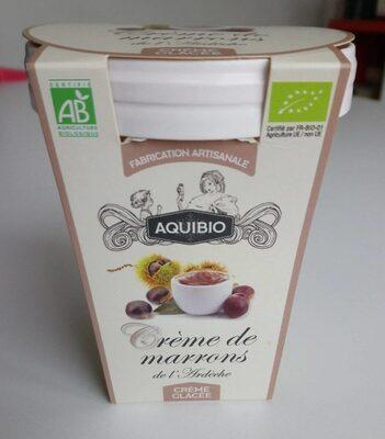 Crème glacée de marrons de l'Ardèche - Product