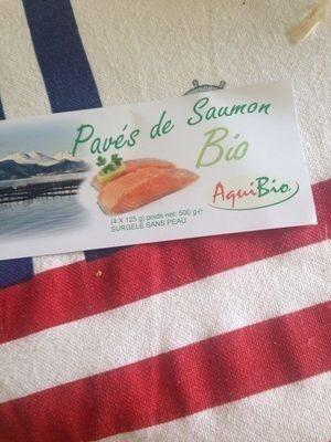 Pavé de saumon bio - Product - fr