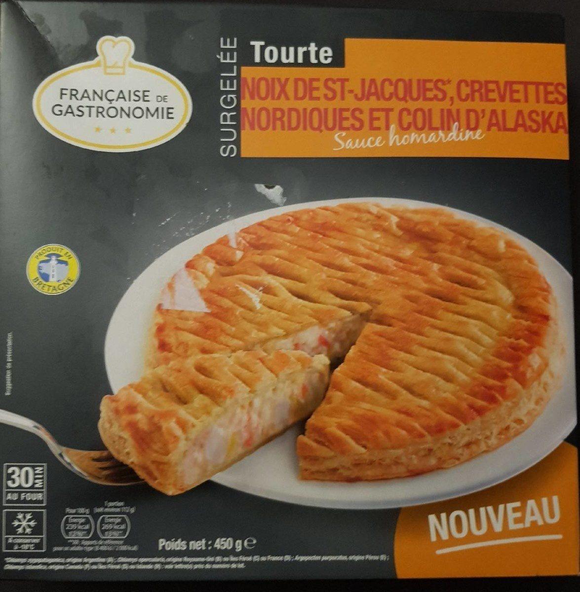 Tourte crevette st Jacques colin - Product