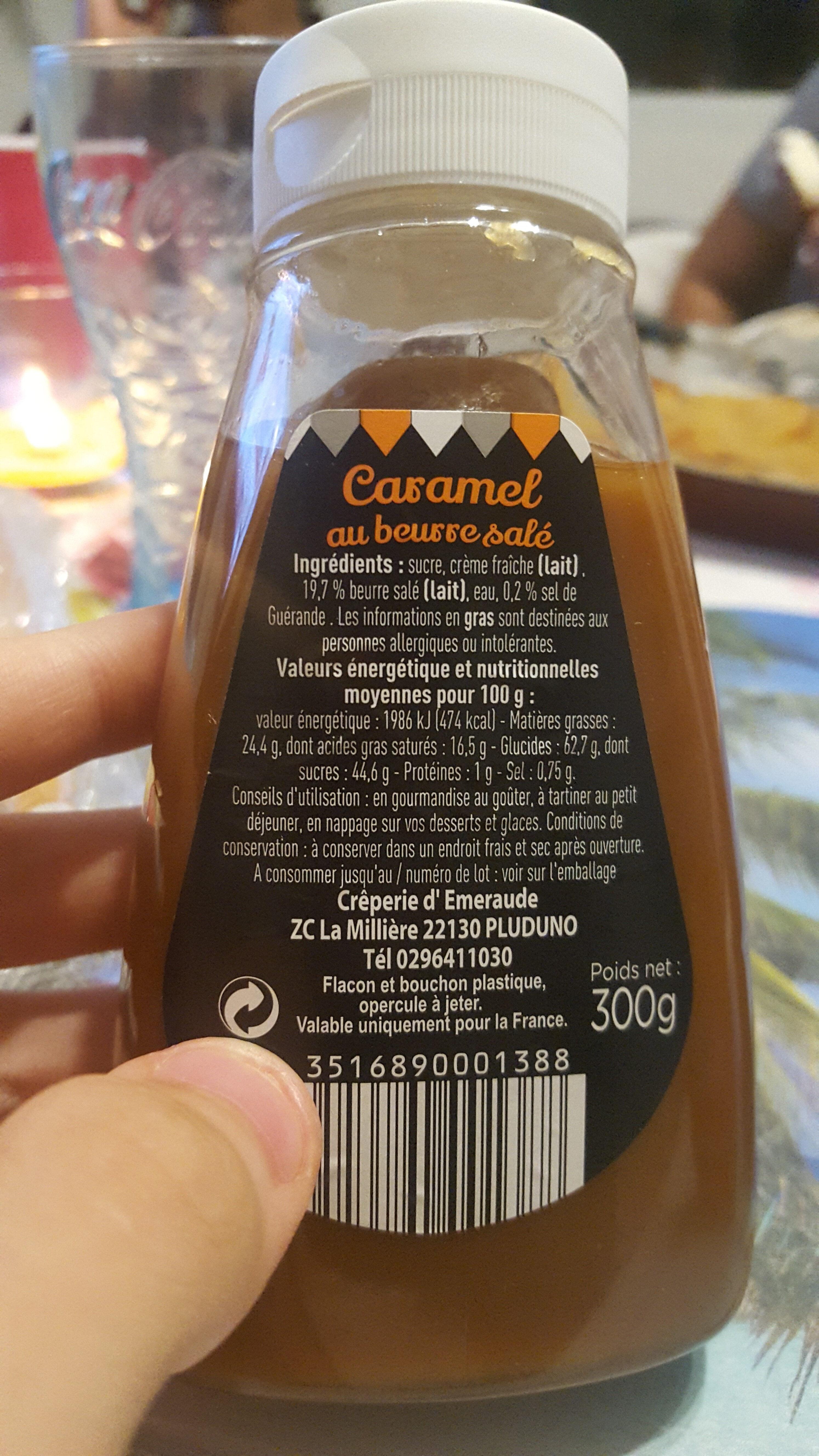 Caramel au beurre sale - Ingredients