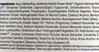 precieux argan - Ingredients
