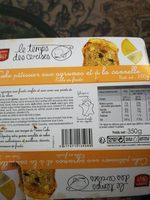 Cake pâtissier aux agrumes et à la cannelle - Product