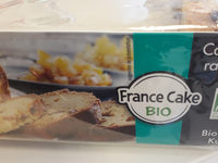 Cake bio Abricot, raisin et Citron - Product