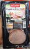 Carré de porc cuit - Product