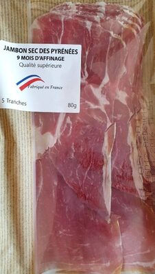 Jambon sec des Pyrénées - Prodotto - fr