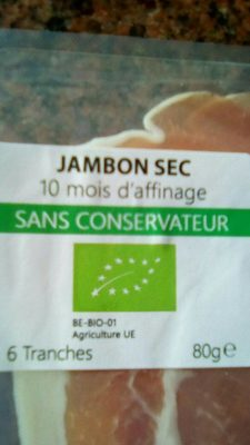 Jambon sec - Produit