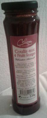 Coulis aux 4 fruits rouges - Produit