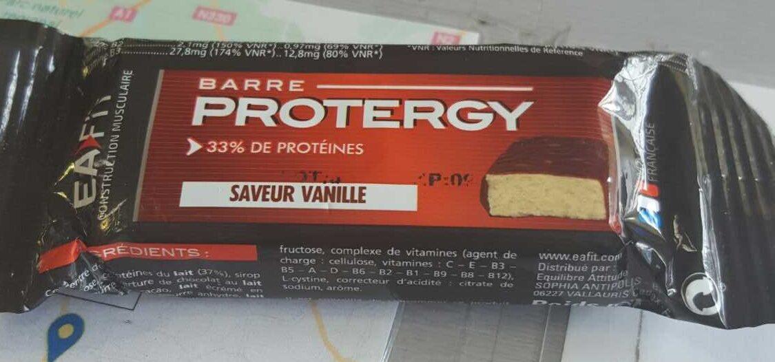Eafit Protergy Barre Hyperprotéinée à La Vanille - Produit - fr