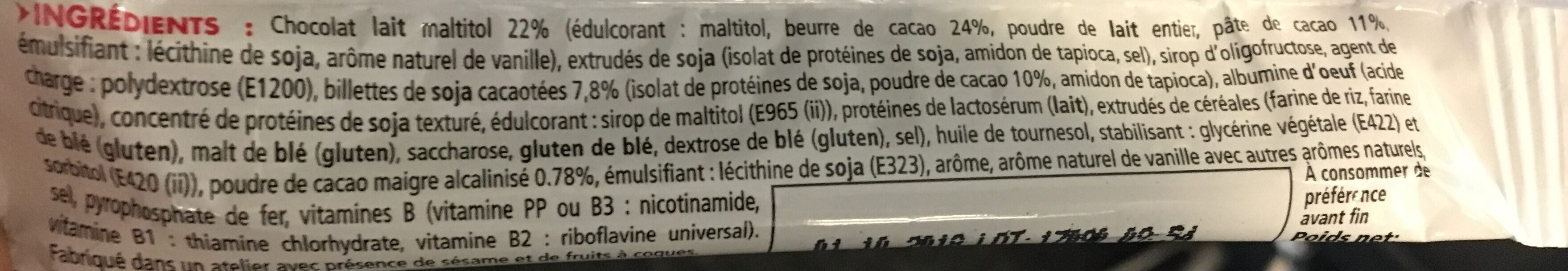 Eafit Proticereal - Barre Minceur Chocolat - Produit - fr