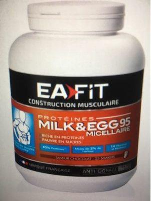 Milk & Egg 95 Saveur Chocolat - Produit - fr